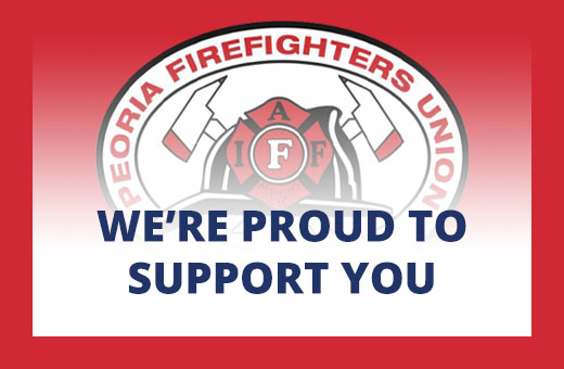 We're proud to support local firefighters